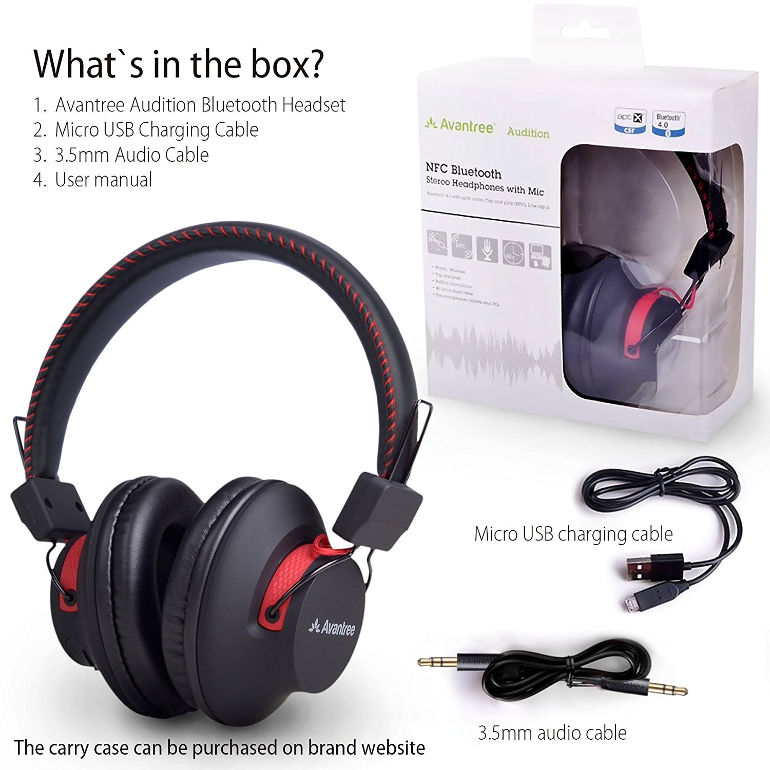 Avantree Audition Bluetooth Headphones - Review - Pros - Cons
