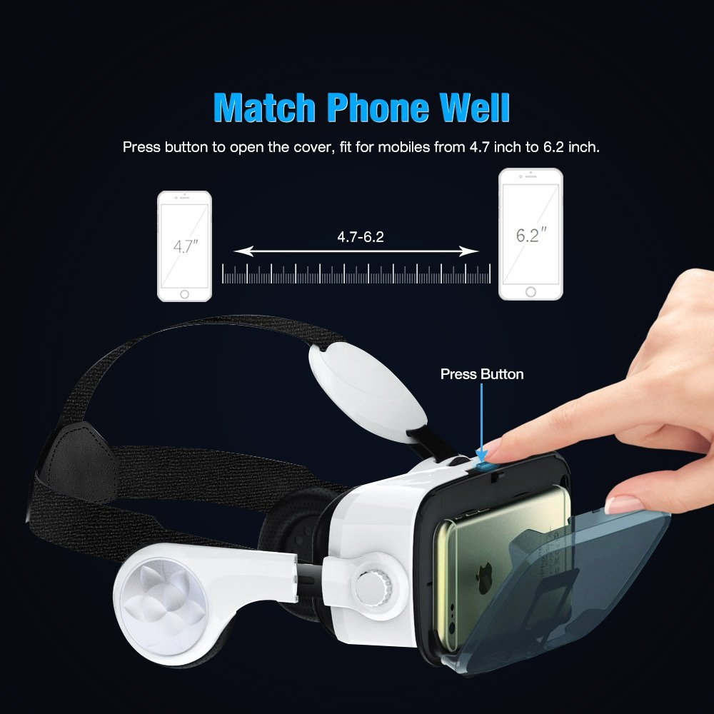 Review of Elzoneta Virtual Reality VR Headset With Bluetooth Remote